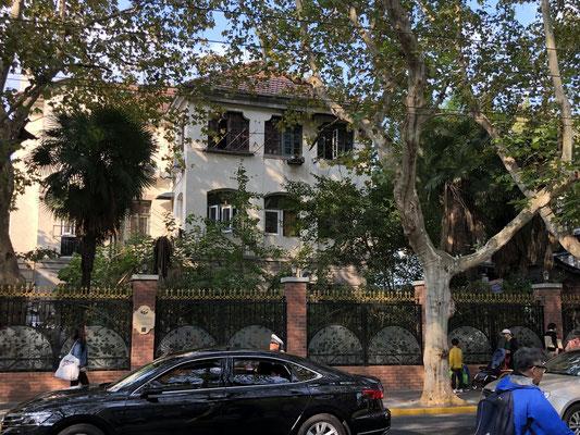 alte Garden-Villa in der franz. Konzession