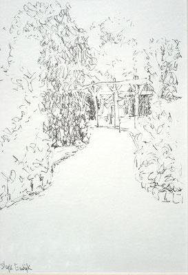 Tuinpad in Slijk Ewijk