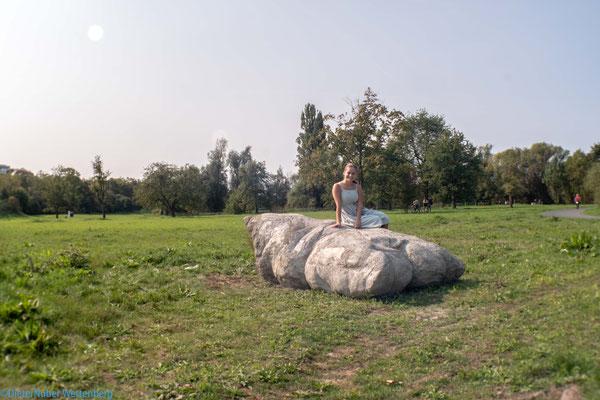 ...ein gewaltiges Kissen aus Beton im Erholungsraum Lahnwiesen