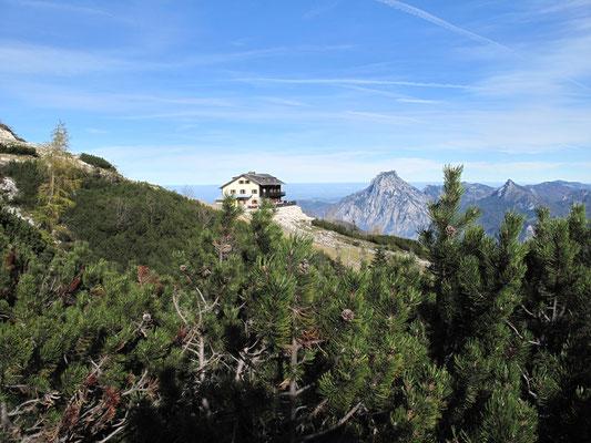 Kranabethhütte mit Fernsicht am Feuerkogel