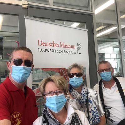 Besuch Fliegermuseum mit Corona Auflagen