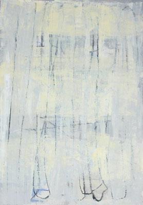 Sibylle Werkmeister, 70 x 100 cm, Acryl, Ölkreide auf Papier