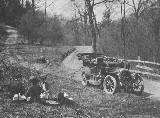 Picknick in 1907.