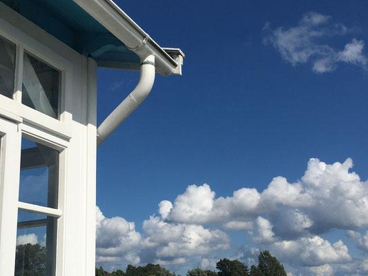 Wolken über der Schleiperle