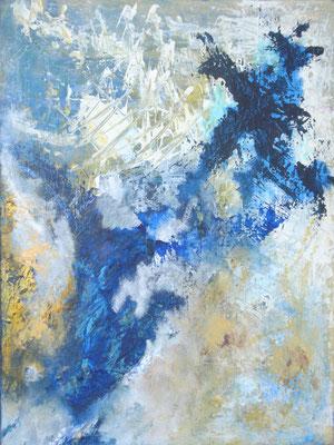 """""""Der Himmel II"""" - Acryl auf Leinwand - 60 x 80 - 2014"""