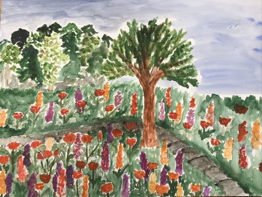 Baum Garten (Sommer)