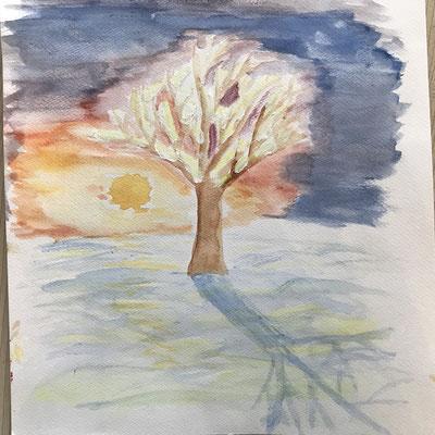 Baum (Winter) 2
