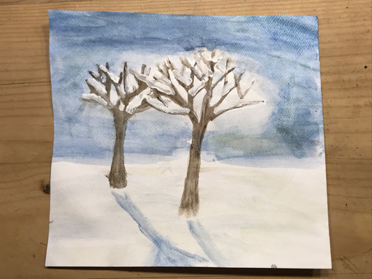 Baum (Winter) 3