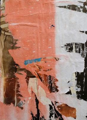 Munich Westpark II, Décollage, 25 x 18 cm, 2016