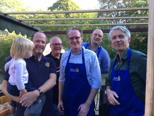 Rotary Club mit der besten Currywurst