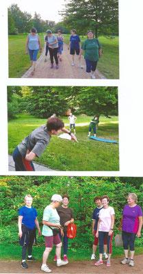 Training im Stadtpark