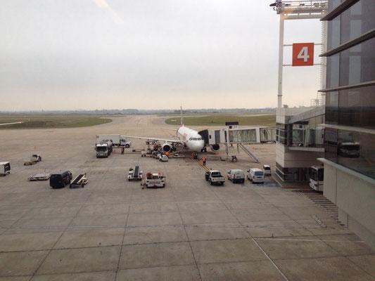 Flug nach Rio de Janeiro
