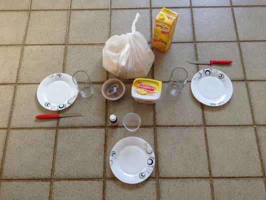 Unser Küchentisch... :-)