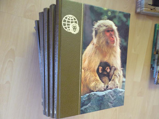 viele Tierbücher