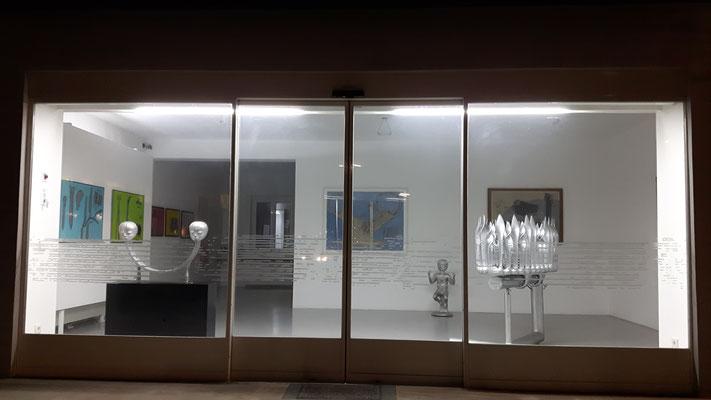 Bruno Gironcoli, Skulpturen und Arbeiten auf Papier, 2018, Kunstraum Klagenfurt
