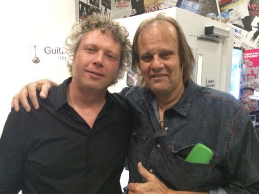With Walter Trout, Frederickshavn Bluesfestival, Denmark, Nov 07 2015