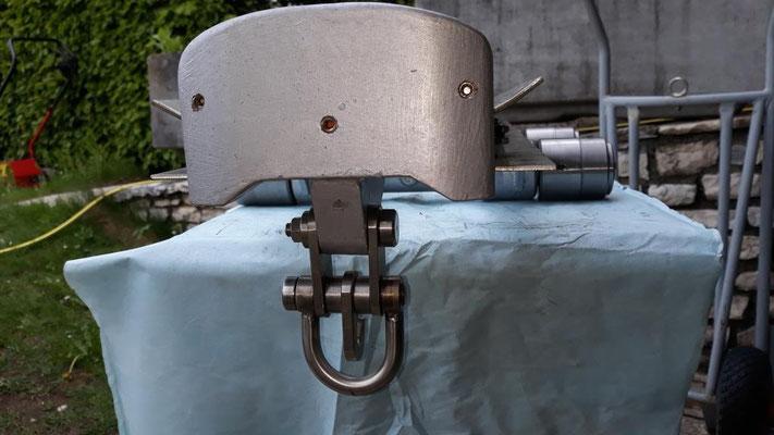 Die Kupplungsglieder gefertigt aus Edelstahl.
