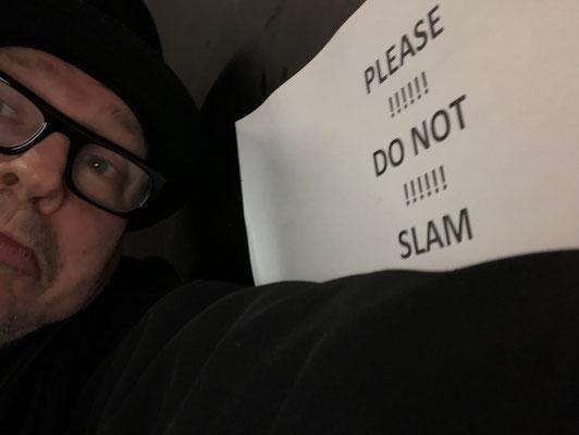 Im Backstage vom English Theatre