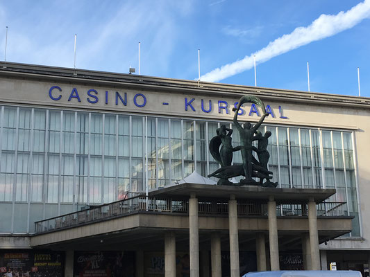 vue du Kursaal, 8400 Ostende, Belgique