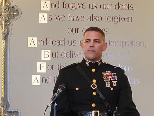 Lt. Colonel Kevin Shea, USMC.