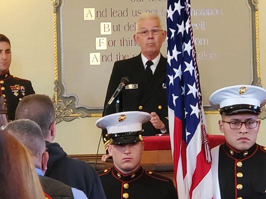 Chaplain Lieutenant Commander, USN (Ret) Robert Lancia.
