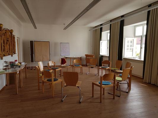 Seminarräume zum Wohlfühlen in Kloster Scheyern biographisches Schreiben