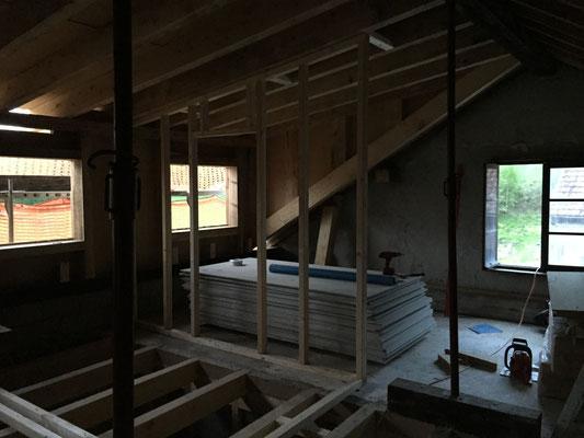 nun ist das Dach wieder Dicht und wurde gleich vom Regen auf die Dichtheit geprüft