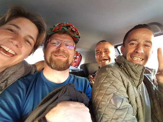 Taxi Maroccaine mit Ali dem Wüstenfuchs
