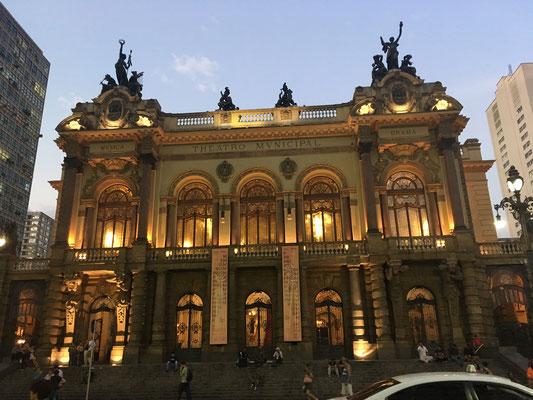 Municipal Theatre of Sao Paulo - hier befindet sich die Bar