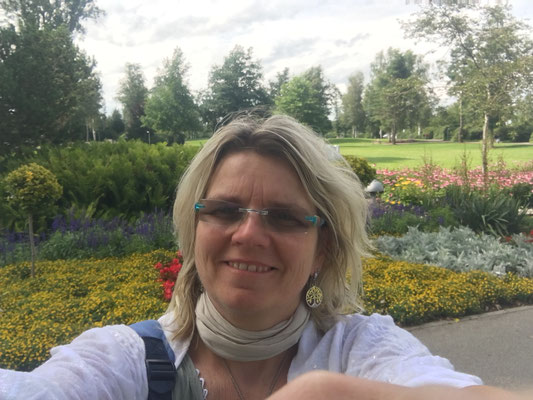 Blumengarten in Bad Buchau 2017