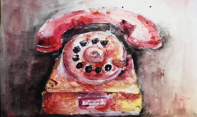 Mein altes Telefon
