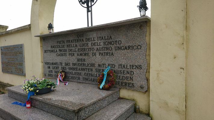 Soldatenfriedhof in Monfalcone
