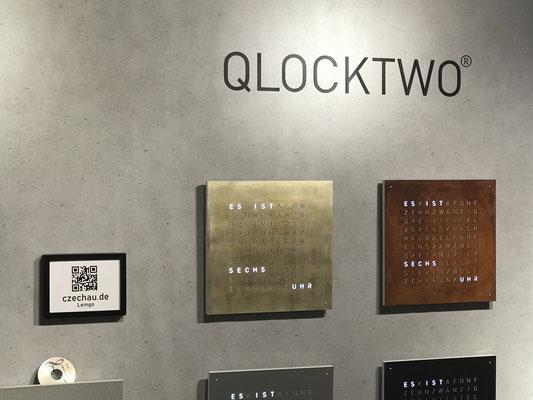 QLOCKTWO Classic Siver&Gold und Rust         ©kaiczechau