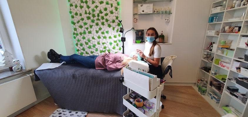 Wimpernverlängerung LashArt by Magdalena Wimpernverdichtung Brow Lift
