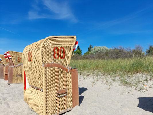 Strandkorb - Urlaub auf der Insel Poel