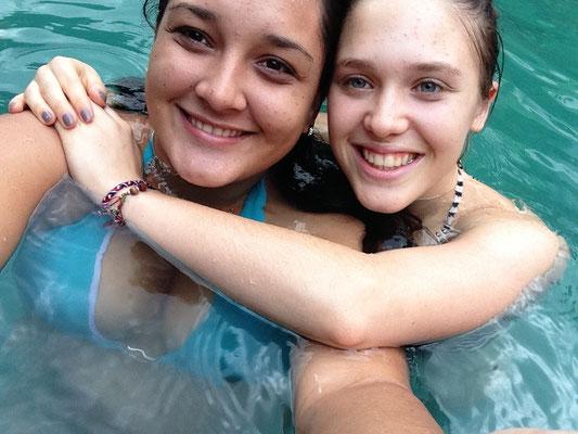 Con la mejor hermana del mundo
