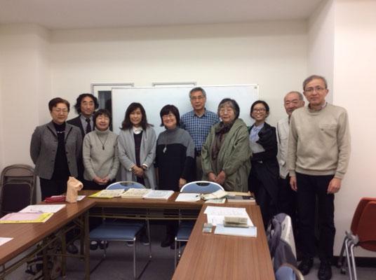 共同代表の香山リカさんと「支える会」メンバーと 2016.10.28