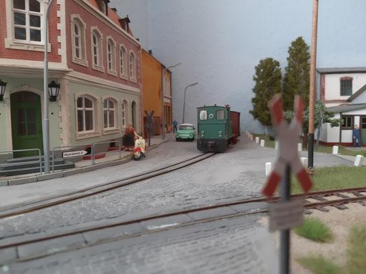 Die Ausfahrt Bahnhof Putin wurde neu gestaltet.