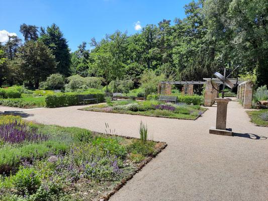 Im botanischen Garten im Hainpark