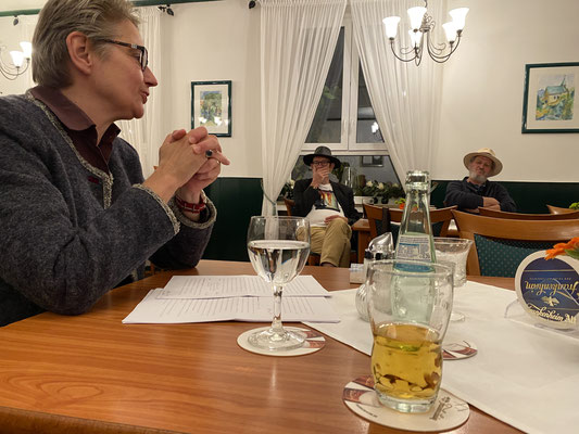 Brigitte Lamberts, Stefan Peters und Michael Schönberg