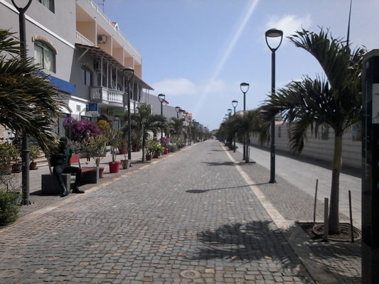 Rue touristique de Santa Maria