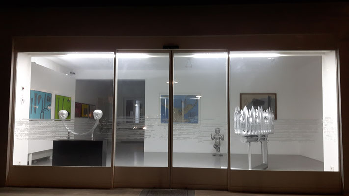 Bruno Gironcoli im Kunstraum Walker, 2018 (c) Galerie Walker