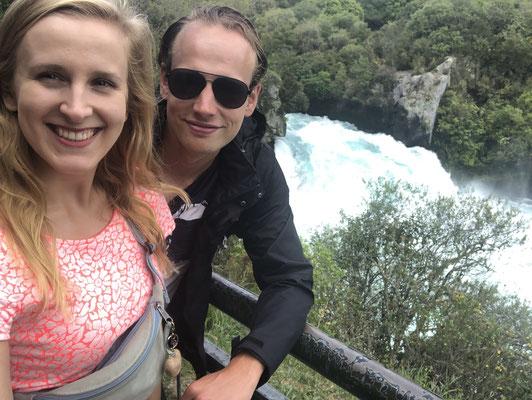 Huka Falls wandeling