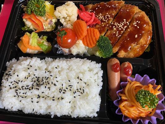 会津ばんげのソースカツ弁当