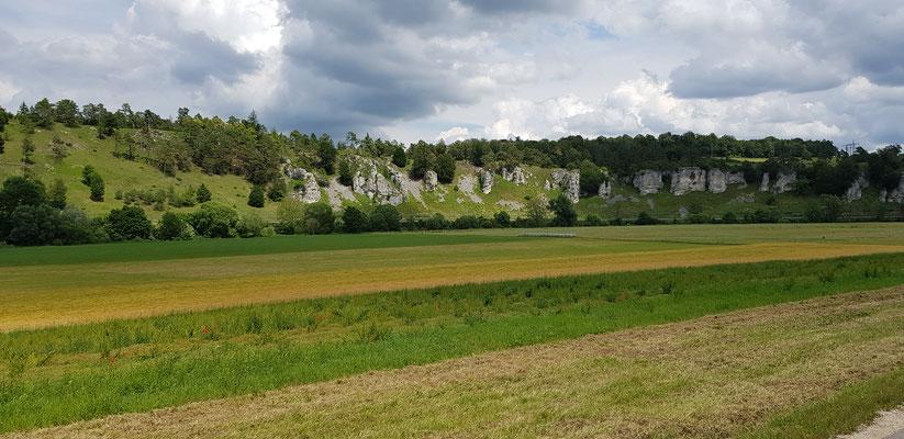 """Die """"Zwölf Apostel"""" Steinformation aus dem Jurameer"""