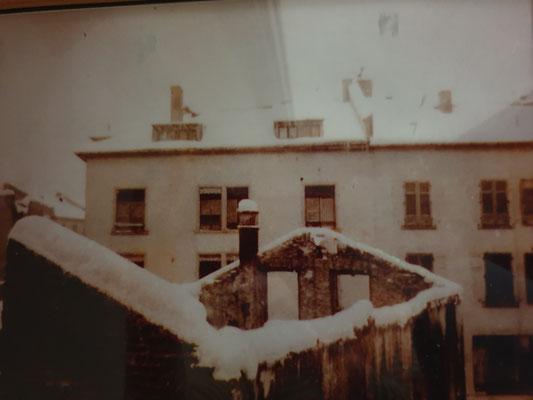 Ruine unseres Hauses im 2. Weltkrieg