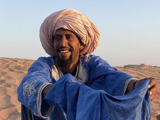 Méditation nomade dans le désert