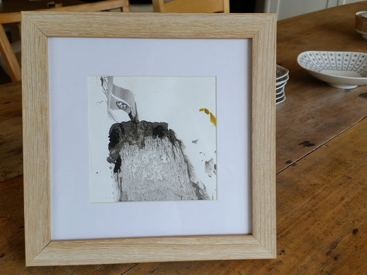 ohne Titel - Acryl auf Papier 15x15cm Preis auf Anfrage