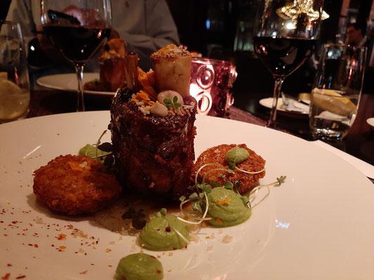 Dinner at Grischa Davos