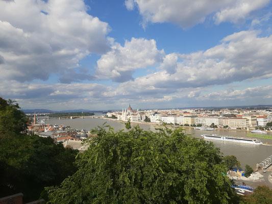 view on Danube River